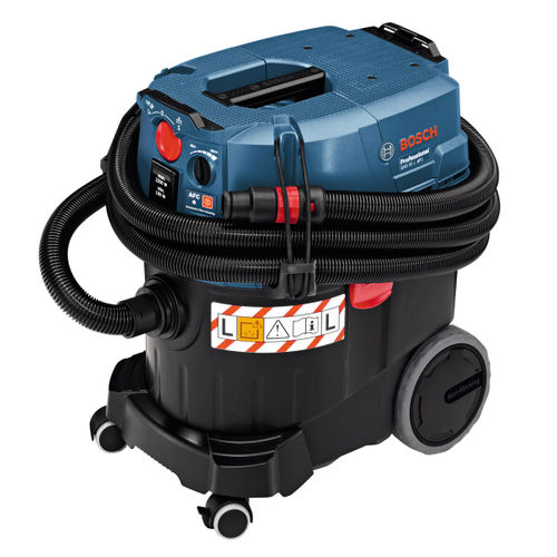 Bosch GAS 35 L AFC Dust Extractor L-Class, Wet/Dry, Automatic Filter Cleaning (240V)
