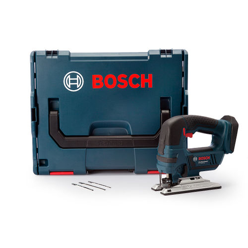 Bosch GST18V-LI B Jigsaw Bow Handle In L-BOXX (Body Only)