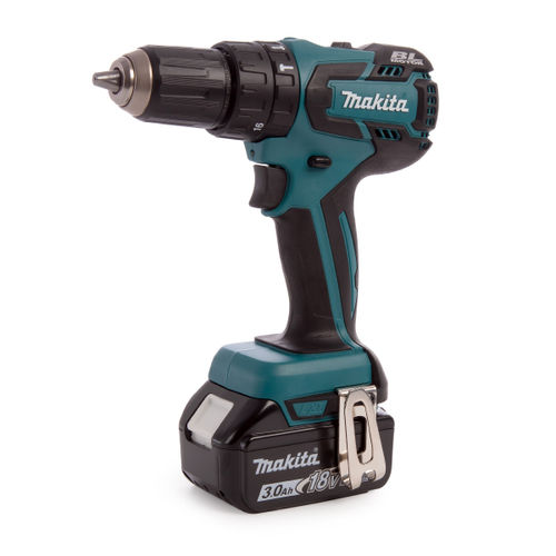 Makita DHP459SFE 18V Li-ion Combi Drill (2 x 3.0Ah Batteries)