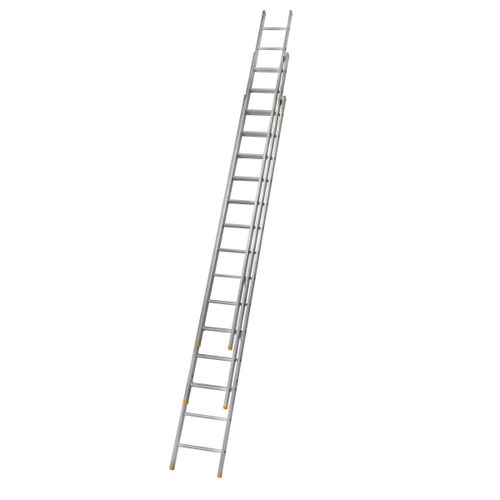 Werner 72341 Triple Box Section Extension Ladder 3 x 4.09 Metres (10.21m)