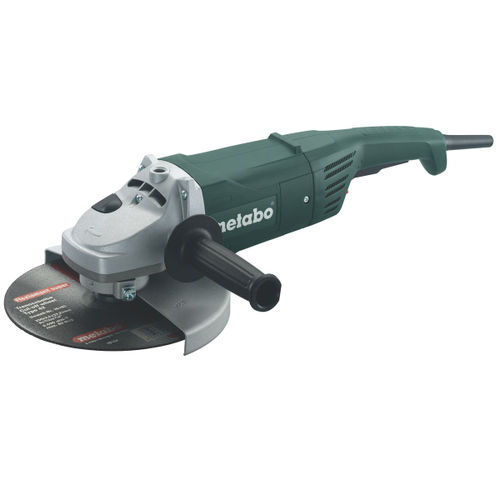 "Metabo W2000-230 9"" Angle Grinder with Dead Mans Paddle 110V"