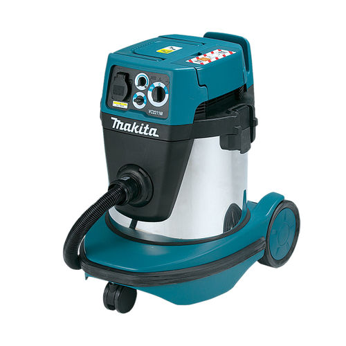 Makita VC2211MX1 Dust Extractor / Vacuum Cleaner 22L M Class Wet / Dry 240V