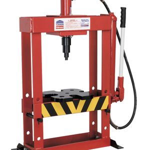 Sealey YK10BLG Hydraulic Press 10tonne Bench Type Without Gauge
