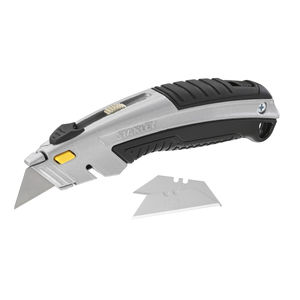 Stanley 0-10-788 DynaGrip Instant Change Knife with 3 Blades