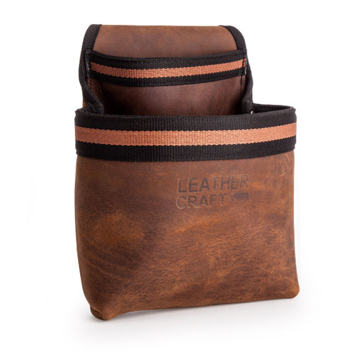 Leather Craft LC501 Single Tool Pouch with Speed Square Holder