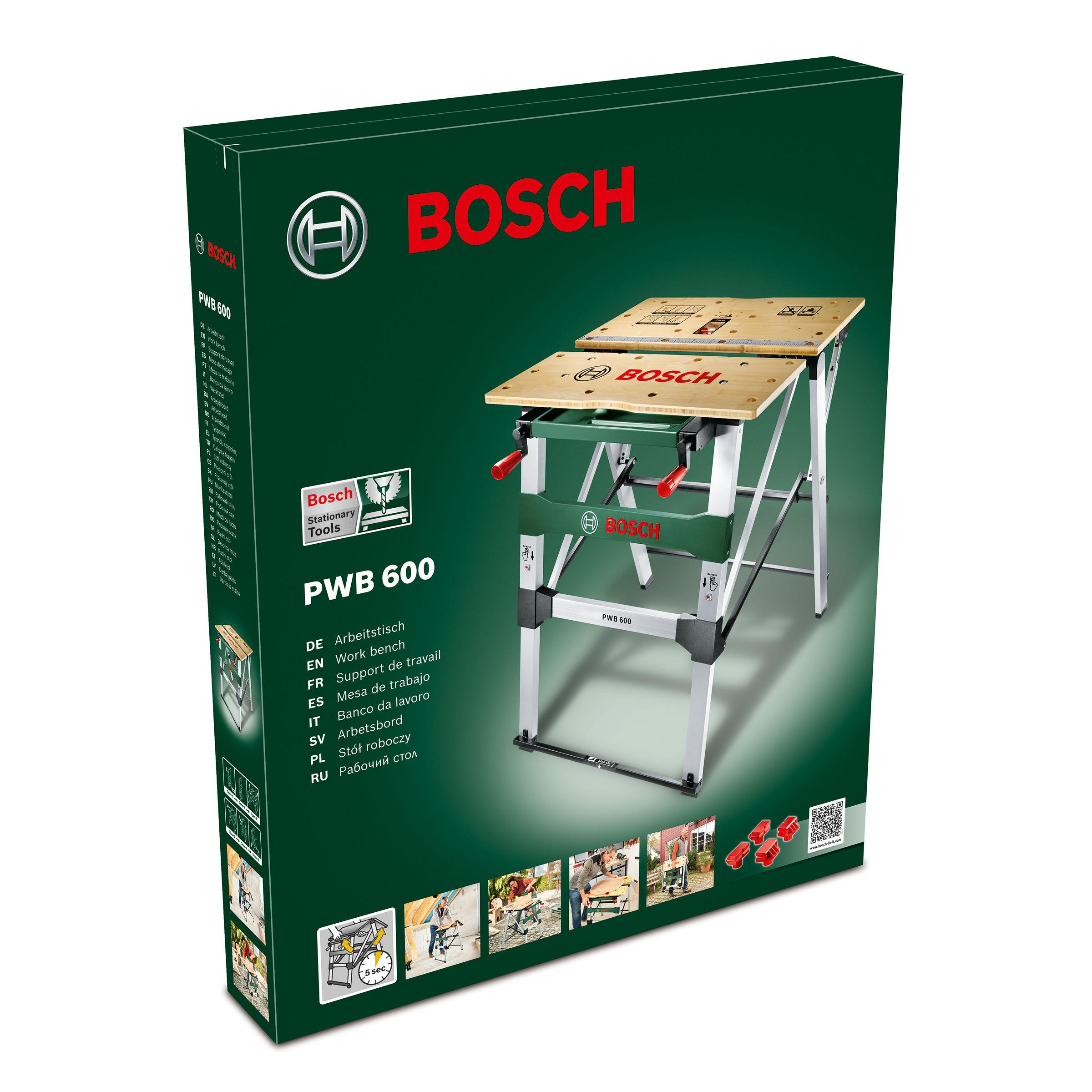 toolstop bosch pwb600 mobile work bench. Black Bedroom Furniture Sets. Home Design Ideas