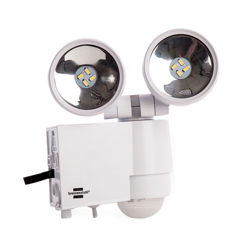 Brennenstuhl 1170920 Solar LED-Spot SOL 2x4 IP44 with PIR Sensor