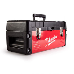 Milwaukee 4939435038 Red Metal Toolbox 480 x 220 x 230mm
