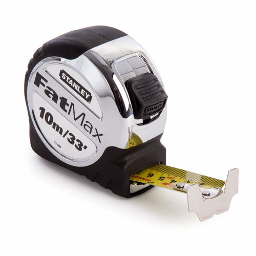 Stanley 5-33-896 Metric/Imperial FatMax Xtreme Tape Measure with 32mm Blade 10m / 33ft