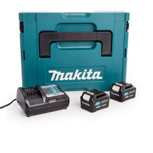 Makita CXT 10.8V Battery & Charger Set in Makpac Case (2 x 4.0Ah Batteries)