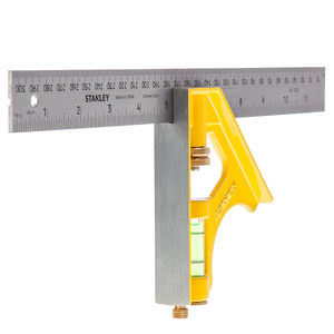Stanley 2-46-028 Die Cast Combination Square 30cm / 12 Inch