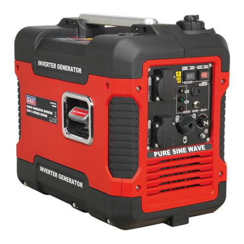 Sealey G2000I Inverter Generator 2000W 240V 4-Stroke Engine
