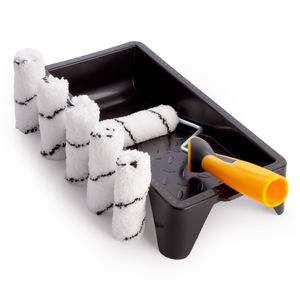 Coral 43400 Emulsion Mini Roller Kit for Small Spaces 8 Piece