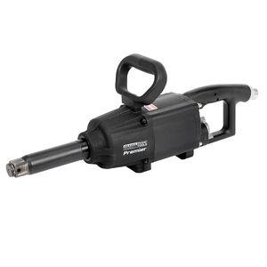 """Sealey SA687 Air Impact Wrench 1""""sq Drive Twin Hammer Straight Long Anvil"""