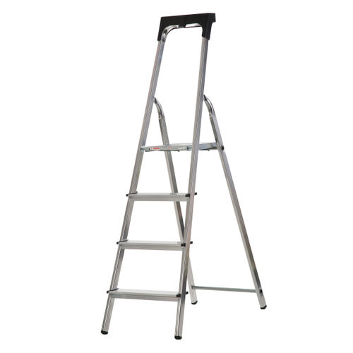Werner 74104 High Handrail Stepladder With Tool Tray 4 Tread (0.8m)