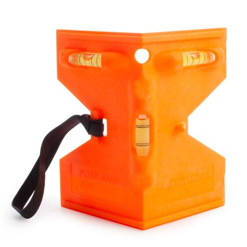 Johnson JL175-O Orange Post And Pipe Level