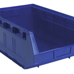 Sealey TPS5 Plastic Storage Bin 310 X 500 X 190mm - Blue Pack Of 12
