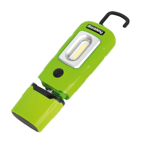 Sealey LED3601G LED Rechargeable Lithium-Polymer Inspection Lamp (Green)