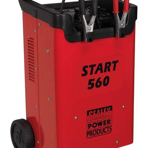 Sealey START560 Starter/Charger 560/90amp 12/24V 240V