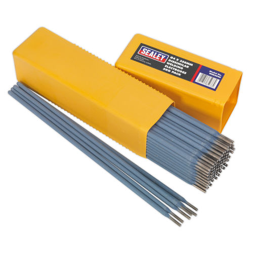 Sealey WED5040 Welding Electrodes Dissimilar ∅4 X 350mm 5kg Pack