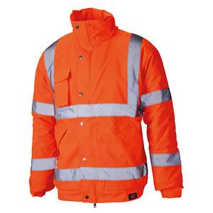 Dickies SA22050 Hi-Vis Bomber Jacket Orange
