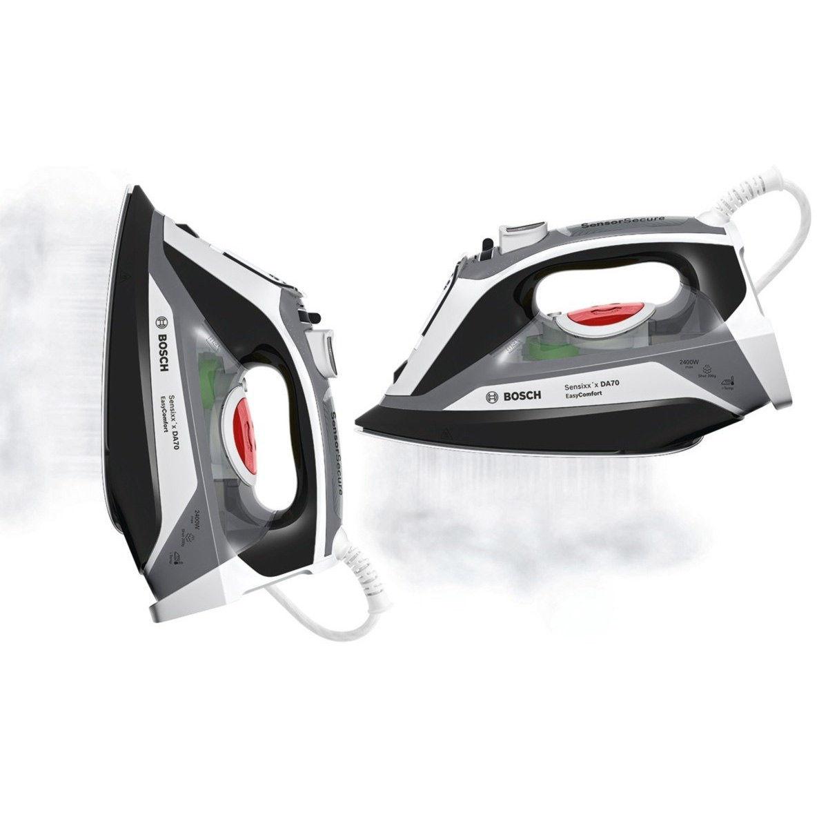 Bosch TDA70EYGB Steam Iron Sensixx x DA70 EasyComfort White   Black 2400W f22d21384e6