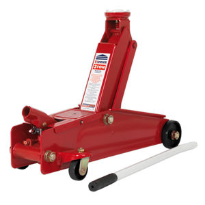 Sealey 1153CX Trolley Jack 3tonne Long Chassis Heavy-Duty