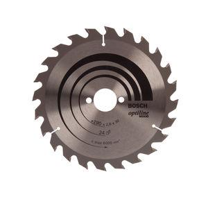 Bosch 2608640615 Optiline Circular Saw Blade (190x30mm) - 24 Teeth