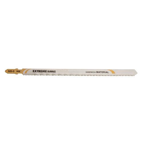 Dewalt DT2084 Extreme 180mm Long Life Bi-Metal Jigsaw Blades (Pack of 5)