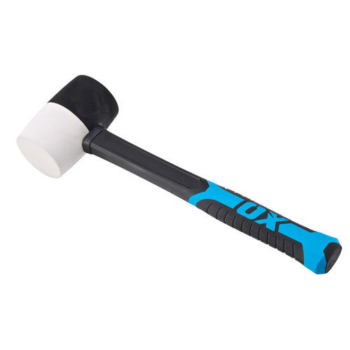 OX Combination Rubber Mallet Trade Series - Fibreglass Handle 24 oz (T081924)