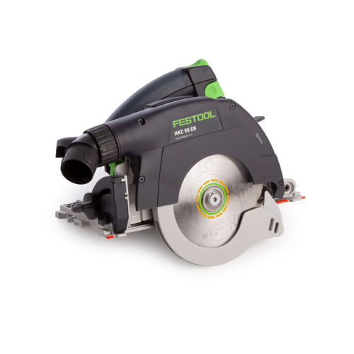 Festool 201358 Cordless Circular Saw HKC 55 Li EB-Basic (Body Only)