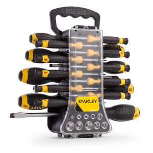 Stanley STHT0-70886 Screwdriver Set with Sockets and Bits 49 Piece