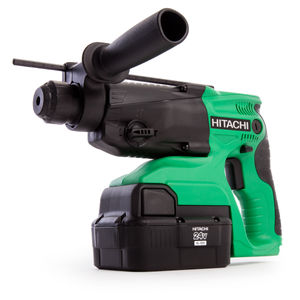 Hitachi DH24DVC 24V 4kg SDS-Plus Hammer Drill (2 x 2AH NiMH batteries)