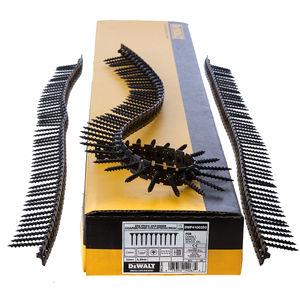 Dewalt DWF4100350 Plastic Collated Drywall Screws Coarse Thread 35mm x 3.5mm (1000 in Box)