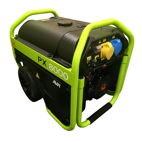 Pramac PX8000 Long Run Generator, Elec Start 110V/240V