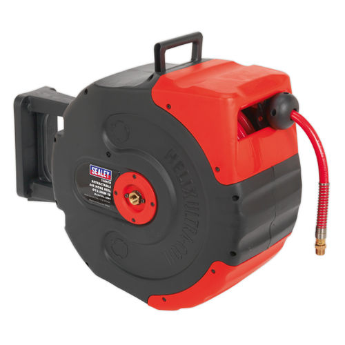 Sealey SA94 Retractable Air Hose Reel 15mtr ∅12.5mm Id