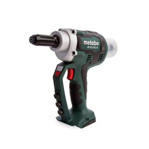Metabo NP18LTXBL5.0 Riveting Gun in MetaLoc Case (Body Only)
