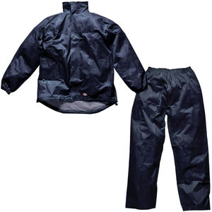 Dickies WP10050 Vermont Jacket and Trousers Water Resistant Suit (Navy)