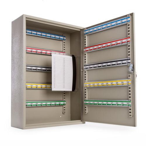 Sealey SKC100D Key Cabinet 100 Key Capacity Deep
