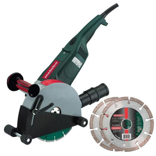 Metabo MFX65 240V - 2,500W Wall Chaser - Inc 2 x Diamond Blades
