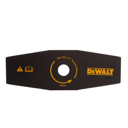 Dewalt DT20654 Brush Cutter Straight Blade For Trimmer 255mm