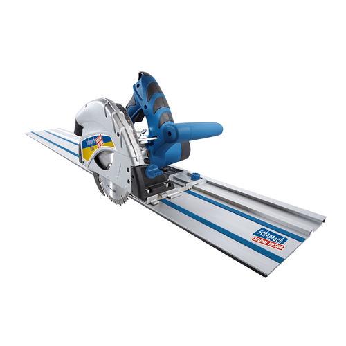 Scheppach PL55-P2 160mm Plunge Saw Set + 2 x 1400mm Guide Rails 240V