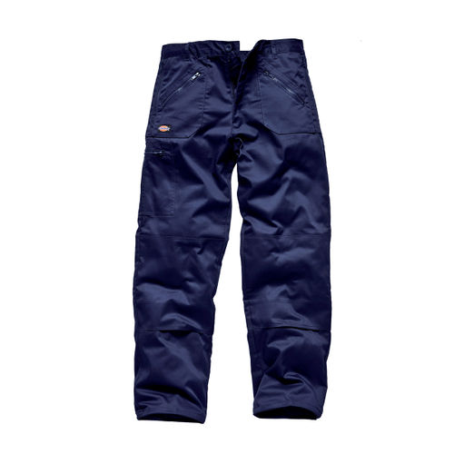 Dickies WD814 Redhawk Multi Pocket Action Trousers (Navy) - 34 LONG