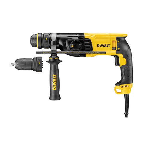 Dewalt D25134K SDS+ Hammer 2kg 3 Mode with Quick Change Chuck 26mm 110V