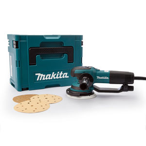 Makita BO6050J Random Orbit Sander 150mm