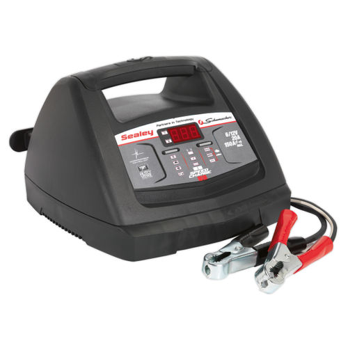 Sealey SCI90S Starter 150amp/intelligent Speed Charge Battery Charger 20amp 6/12v