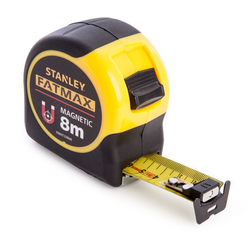 Stanley FMHT0-33868 FatMax Magnetic Tape 8m