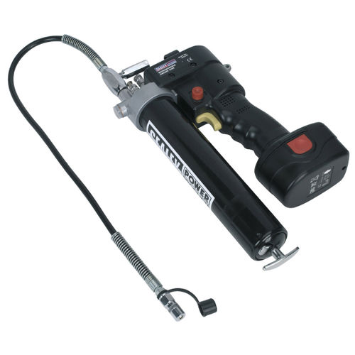Sealey CPG12V Cordless Grease Gun 12V (1 x 1.7Ah Battery)