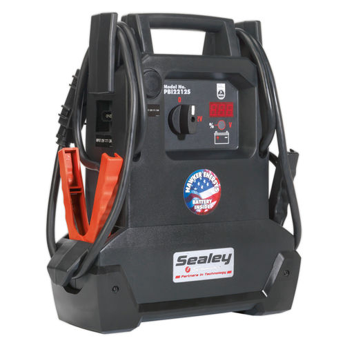 Sealey PBI2212S Roadstart Emergency Power Pack 12V 1900 Peak Amps Dekra Approved