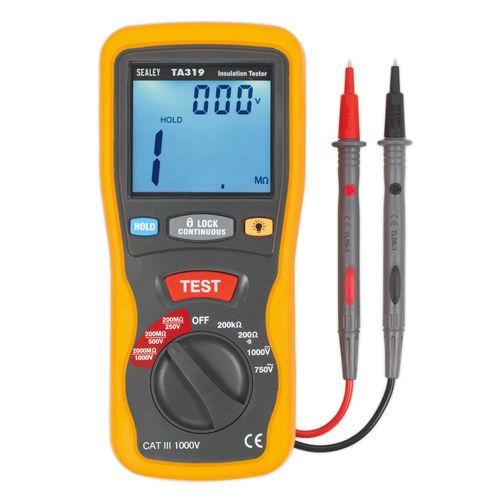 Sealey TA319 Digital Insulation Tester